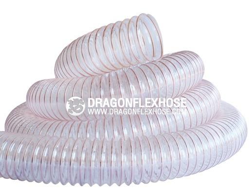 ท่อดูด-ส่ง โพลียูริเทนไส้ลวดสปริง D - PU Flex