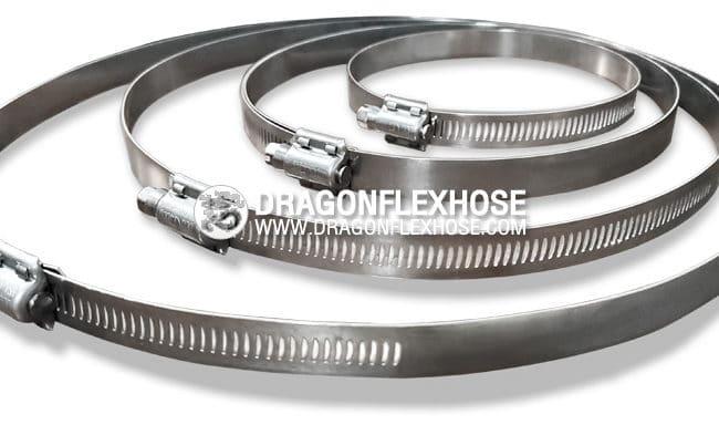 เข็มขัดรัดท่อ Stainless Steel 304 แท้ 100 %